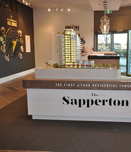 The Sapperton Sales Office
